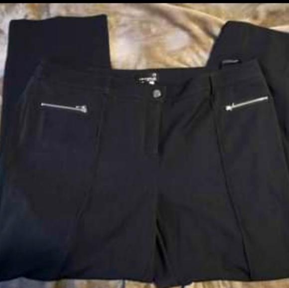 Laura Plus Pettit - Charcoal Dress Pants-Sz 16